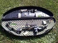 For sale is a Hoyt Magnatek compound bow. This includes