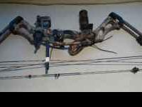 2007 Hoyt Trykon JR Camo Compound Bow Deluxe bow with