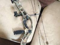 For sale is my Hoyt TurboHawk. Bow and strings are in