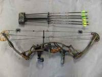 Hoyt Vtec XT1000 Bow Package Part#: 659257 Weight: