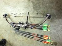 I am selling my Hoyt Banshee Youth Bow. I am asking