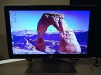 "Used HP 18.5"" Widescreen LCD Monitor Model W1858"