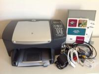 HP 2510 Photosmart Inkjet Printer with print, scan, fax