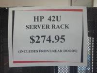 INSTOCK: 3 MAKE: HP 10642 G1 42U SERVER RACK 42U SERVER