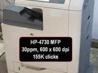 HP-4730mfp 4 in 1 multi function printer for sale
