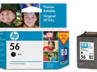HP 56 Black Ink Cartridges (2) $26 Selling two new,