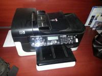 Printer copier scanner fax. The display is a little