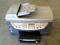 Nice HP all in one unit that prints, scans, faxes, and