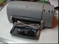 this printer is used but it still works great. It can