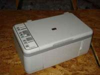 HP All-In-One printer, model F4135. Prints, pictures,