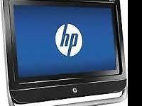 Like New HP All-In-One Touchscreen Computer with