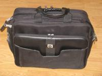 HP Business Brief-Laptop Bag $45 Like New HP logo on