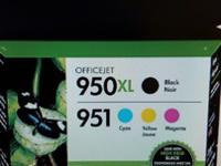 HP 950 XL HIGH YIELD BLACK ORIGINAL INK CARTRIDGE AND