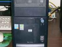 Up for sale is one HP Compaq D220 MT. Machine has a