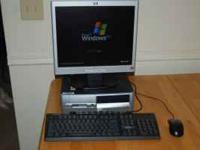 HP Compaq dc5000 Business Desktop *120 GB Hard Drive *1