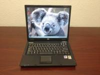 We are selling this HP Compaq nx6110 Laptop with