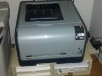 HP CP1518ni Color Laser Printer with memory card
