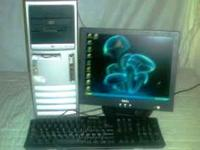 HP D530 Pentium 4 2.66GHz Tower and LCD 40GB Hard