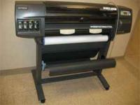 "For Sale: HP DesignJet 1050C 36"" Plotter - Recently"