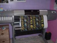 What I have is a HP Designjet 5000PS UV