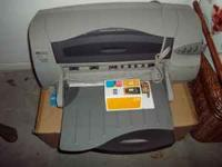 HP Deskjet 1220C - with Spare Color Cartridge Call or