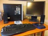 For sale is a HP Pavillion model a6838f desktop with a