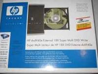 HP Dvd 940e external 18x super multi dvd writer Used