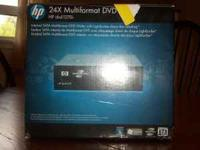 Brand New, still in box hp Multiformat DVD Writer for a