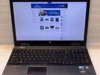 HP EliteBook Quad Core i7, Win7, Office 2013 Freshly