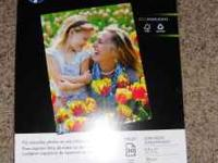 Everyday Photo Paper by HP , 8 1/2 x 11, Gloss,50/Pack