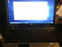 HP i7 Elitebook 8540w Business Class Laptop. Great