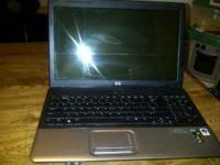 HP Laptop with dvd player and burner.... very nice