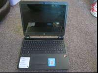 HP Laptop has 4 GB ram and 500 GB Hard Drive. Only used
