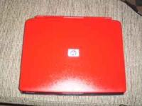 I HAVE A DECENT HP LAPTOP IN RED (WAS SPRAYED AND LOOKS