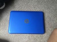 HP 13 inch laptop, perfect condition. Reset to factory
