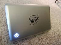 I have a hp pavilion dv600 laptop for sale it is 1 year