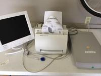 3 excellent office items. HP LaserJet 1100 printer,