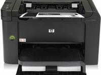 Network ready HP LaserJet Pro P1606dn printer with