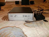 HP Light Scribe DVD burner external USB connect-$30