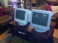 "I have a 17"" and 19"" HP monitor for sale. They're not"