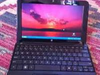 One hp Netbook for sale- near perfect condition. Call