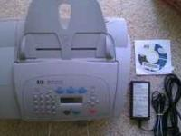 HP all in one, (fax,copier,scanner,printer) HP printer