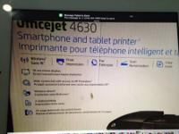 I have a Hewlett Packard Officejet 4620, wireless color