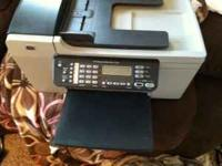 Have for sale HP Officejet All in one color printer.