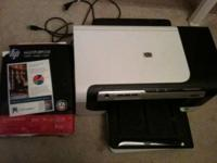 Works great. Includes more than 500 sheets of printer