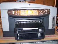 This is an HP all in one printer; copy, scan, print and