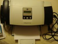Printer, Fax, Scanner, Copier. Prints, Faxes, Scans,