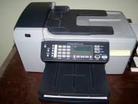 HP officejet 5610 -- 4 in one copy/scan/fax/print. $60