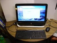 HP Pavilion 20-b010 All-in-One Desktop PC Specs are