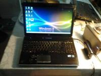 UP FOR SALE IS A HP PAVILION I3 CORE PROSSER four GIG